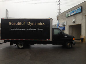 Ford E-450 DIESEL MOVING TRUCK 2008