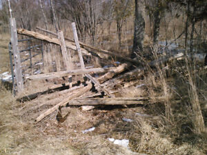 Old cedar rails for sale