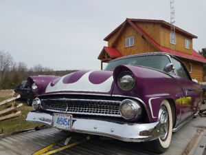 Customized 1955 FORD Victoria Fairlane 2 Door Hard Top