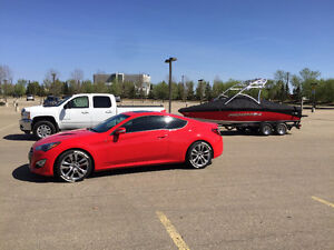 2013 Hyundai Genesis Coupe 3.8 GT V6 Red Coupe with Tan interior