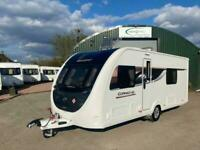 2019 Swift Corniche 18/4 4 berth fixed single Caravan