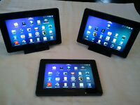 3 Tablettes Playbook 16 GB et 32 GB