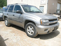 LAST CHANCE 2003 TRAILBLAZER FOR PARTS @ PICNSAVE WOODSTOCK