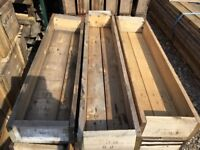 Timber pine used boxes x 100+