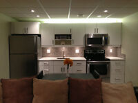 New Basement Suite Available starting December 15th