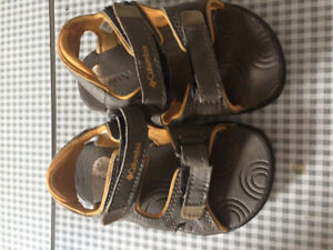 Toddler Columbia sandals size 7