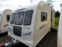 Bailey Pegasus 462 2010 2 Berth Touring Caravan - Top Of The Range End Washroom