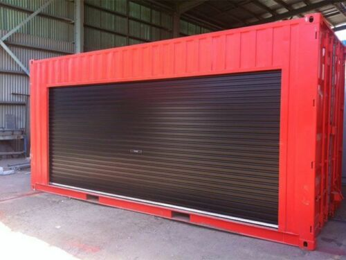 Shipping Container Kiosk  Concession Stand 16 ft Roll-up Door 160 sq. ft