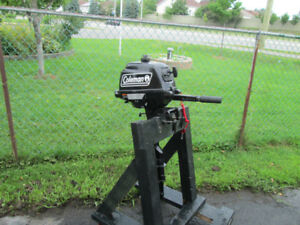 2014  Coleman Outboard Motor