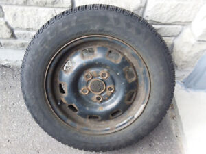 """15"""" rims with old winter tires"""