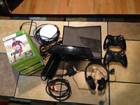 Xbox360 with kinect and 16 games
