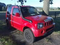 2005 55 reg Suzuki Jimny 1.3 JLX 4x4 mot. till oct.. part ex to clear £1,395