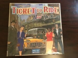 TICKET TO RIDE NEW YORK (new and sealed)