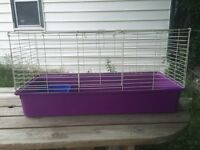 Large rabbit or guinea pig cage.