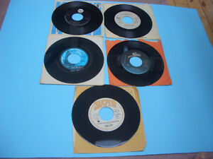 VINTAGE 45S RECORDS 70S AND 80S MEAT LOAF, ASIA, AC/DC ETC London Ontario image 7