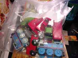 Well loved, thomas and friends wooden toy trains