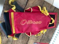 Outbound child backpack carrier