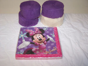 Minnie Mouse Party Items