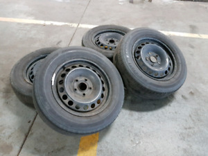 "15"" VW rims with tires"