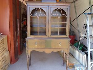 EARLY 1900'S BAETZ FURNITURE COMPANY BERLIN / KITCHENER CABINET