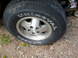Jeep yj rims w tires