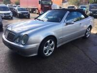 Mercedes-Benz CLK 230 KOMPRESSOR AVANTGARDE AUTO CONVERTIBLE - 2003 03-REG