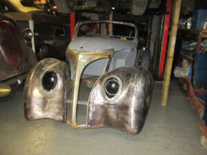 1937 ford ragtop project
