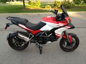 2014 Ducati Multistrada 1200 S Touring - full Termignoni exhaust