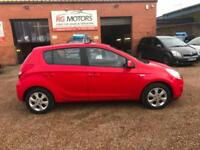2011 Hyundai i20 1.4 CRDi Comfort Red 5dr Hatchback, **ANY PX WELCOME**
