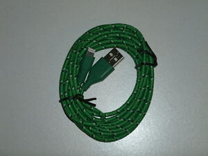 FOR SALE: BRAND NEW CIRCULAR HIGH QUALITY 10FT IPHONE CHARGERS St. John's Newfoundland image 7