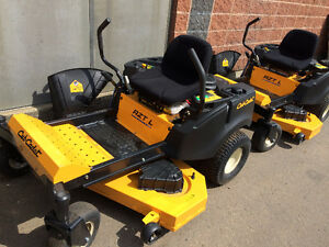 ZERO TURN CUB CADET 2016 BLOW OUT!! 0% FINANCING