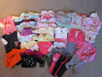 0-3M GIRLS CLOTHES FOR SALE