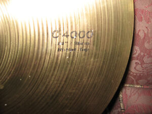 Camber C-4000 cymbal set for a tiny budget! Kitchener / Waterloo Kitchener Area image 2