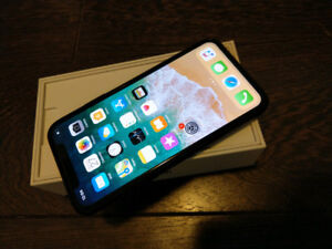 iPhone X 256gb Space Grey (ad is up it's available)