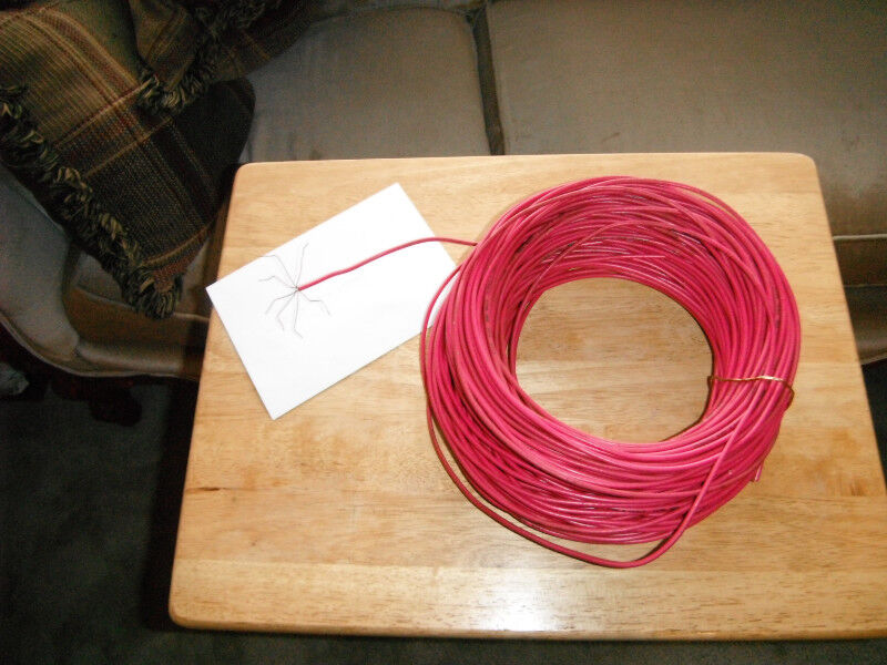 TWN Red 7 STD wire approx  300 ft