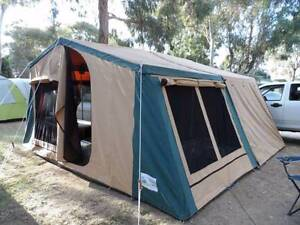 *** Heavy Duty Off-Road Camper with Inbuilt 200L Diesel Tanks *** Clare Clare Area Preview