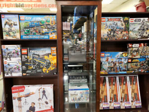 LEGO-ELECTRONICS-TOOLS LIVE AUCTION MONDAY APRIL 29  AT 6:30PM​