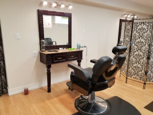 Eyebrow threading, Facial, Waxing, Mani, Pedi, hair cut,  more