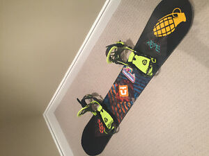 153cm Rome board with union flite pro bindings