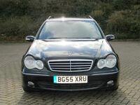 2005 55 REG MERCEDES-BENZ C320 CDI 7G-TRONIC AVANTGARDE SE