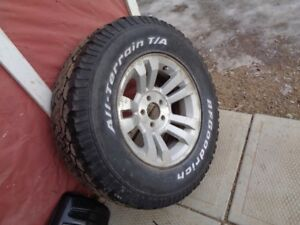 wheel fore ford rannger