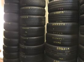 Tyres fitted. Car tyres . Van tyres . TYRE SHOP NEW & USED part worn TIRES