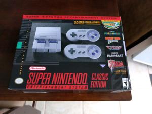 Bnib new SNES Classic Super NES unopened