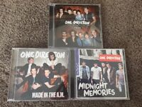 3 ONE DIRECTION ALBUMS ON CD