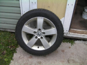 SET OF WINTER STUDDED TIRES FOR SALE