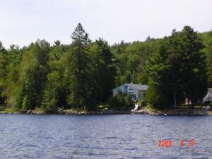 Beautiful Waterfront Cottage Rental North Bay area
