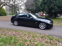 2008 BMW 320 d M Sport 177bhp fsh leather black £4395 *** JUST REDUCED ***