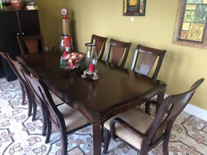 Dining room and chairs set