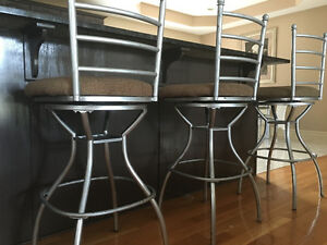 Barstools metal excellent condition