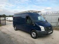 2010 Ford Transit 2.4 tdci 115t350 6 speed lwb medium roof van no vat